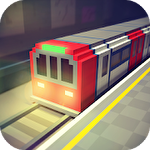 Subway craft: Build and ride icône