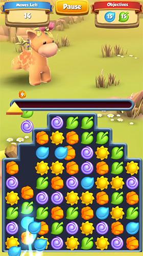 Arcade-Spiele Wild bloom für das Smartphone