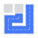 Fill: One-line puzzle game Symbol