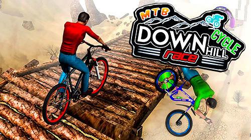 アイコン MTB downhill cycle race