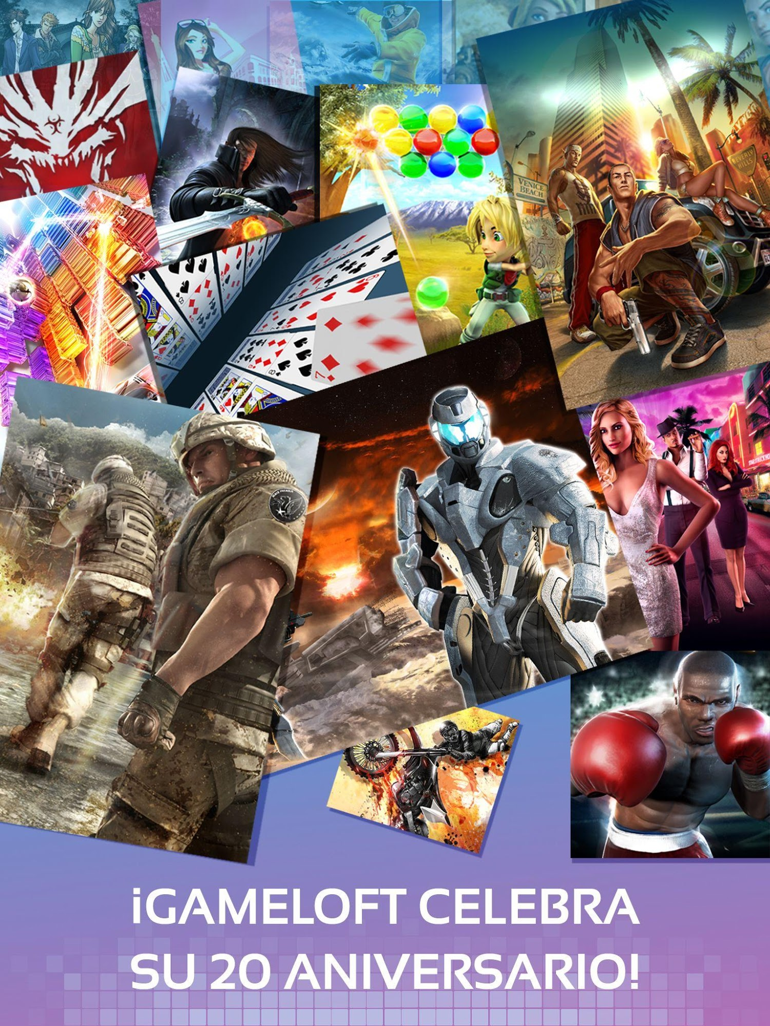 Gameloft Classics: 20 Years captura de pantalla 1