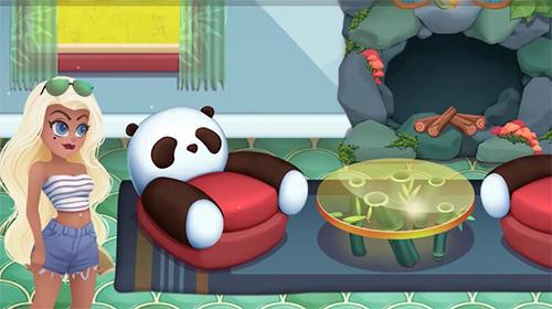 Arcade-Spiele Craftory: Idle factory and home design für das Smartphone