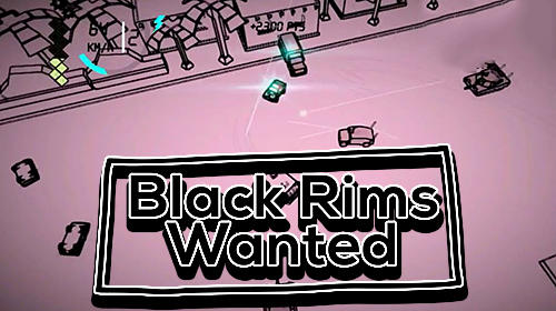 Black rims: Wanted. Grand bank theft driver Screenshot