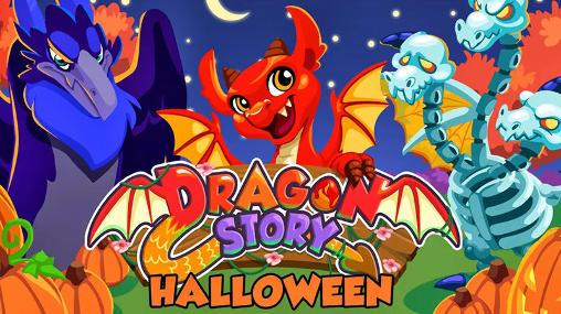 Dragon story: Halloween icon