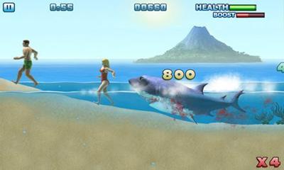 アンドロイド用ゲーム ハングリーシャーク: パート3 のスクリーンショット