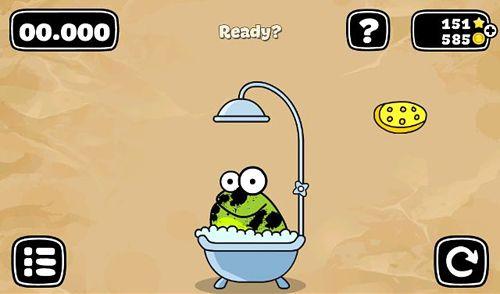 Tippe auf den Frosch: Doodle für iPhone