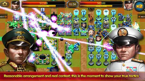 Online games Little commander 2: Global war for smartphone