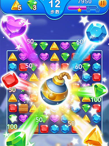 Logic Jewel blast dragon: Match 3 puzzle for smartphone