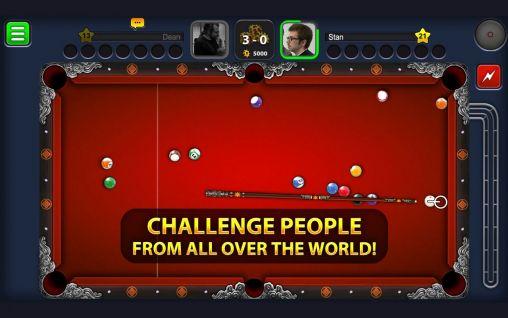 Online 8 ball pool für das Smartphone