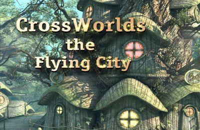 logo Les Croisées des Univers: la Ville Volante