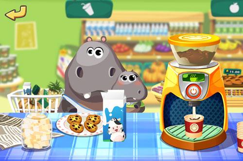Screenshot Dr. Panda's Supermarkt auf dem iPhone