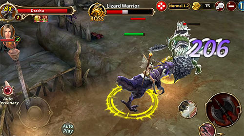 Wrath of dragon für Android