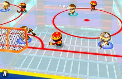 Eishockeygame auf Deutsch