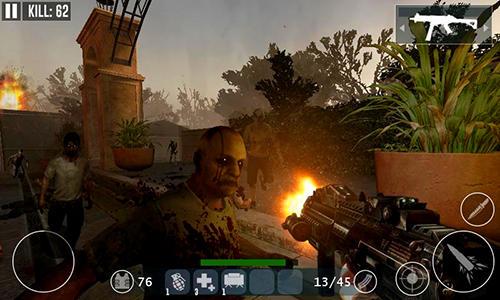 Dead zombie frontier war survival 3D для Android