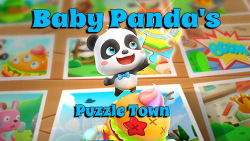 Baby panda's puzzle town: Healthy eating Symbol