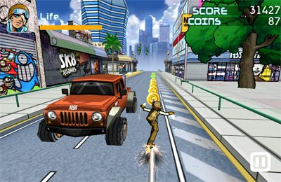 Le Skateboarding Xtrême HD pour iPhone