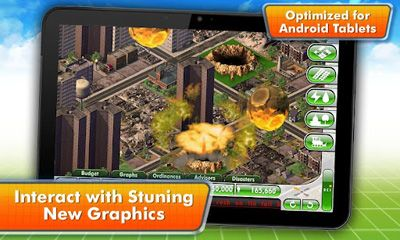 Strategy games SimCity Deluxe for smartphone