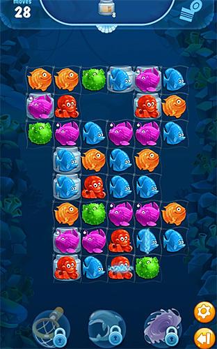 Viber mermaid puzzle match 3 für Android