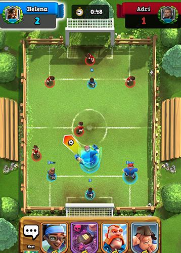 Fußball Soccer royale 2018, the ultimate football clash! auf Deutsch
