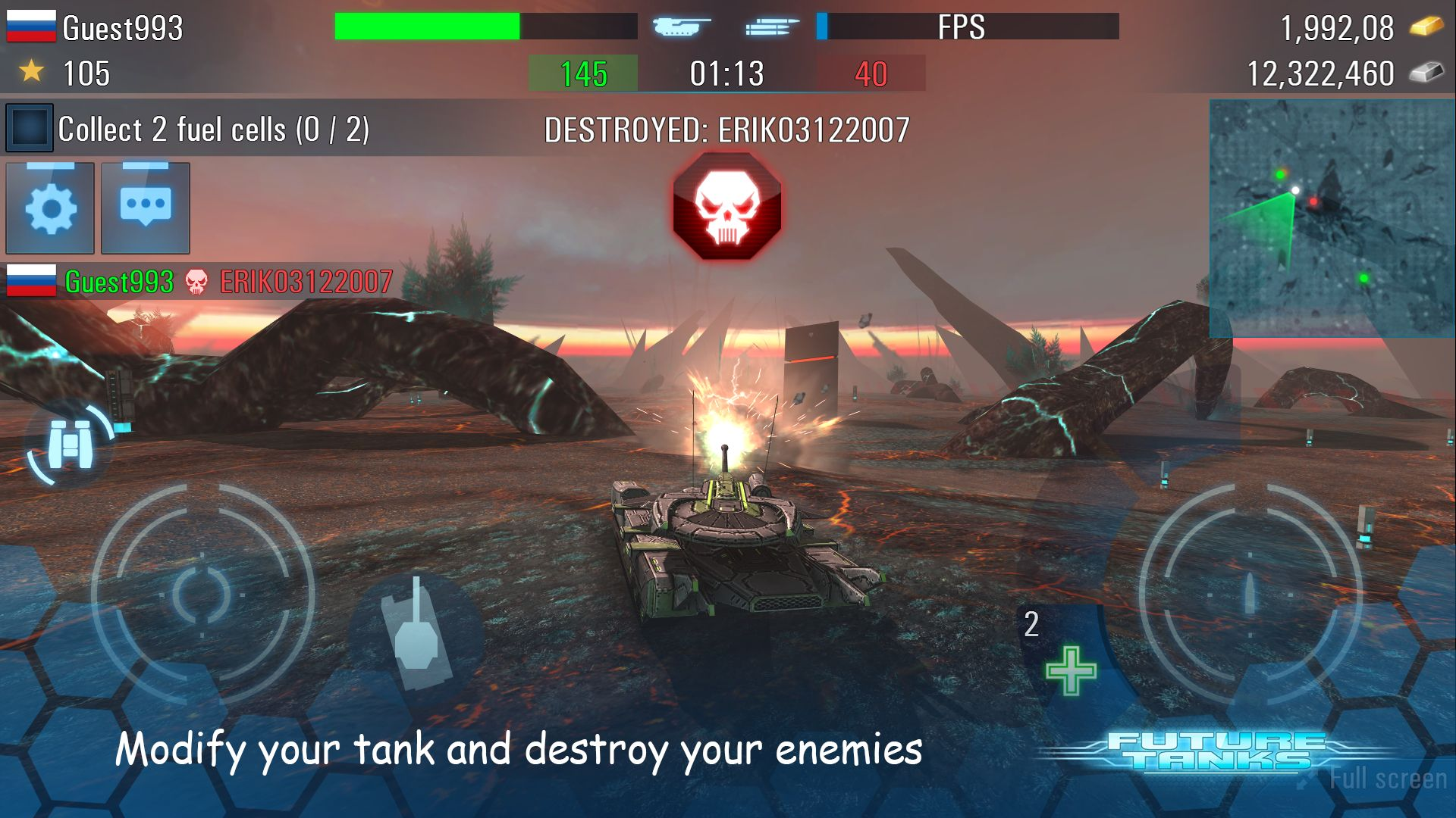 Future Tanks: Action Army Tank Games для Android