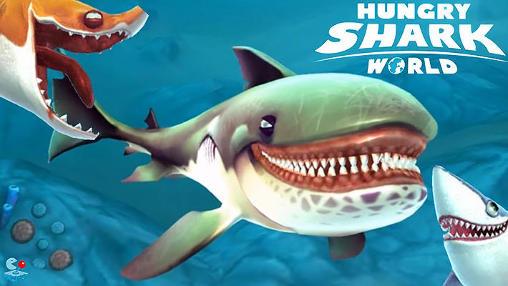 Capturas de tela de Hungry shark world