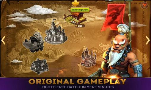 Action RPG Heroes master auf Deutsch