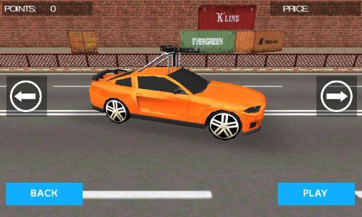 Corrida Mad car racerpara smartphone