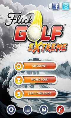 Flick Golf Extreme captura de pantalla 1