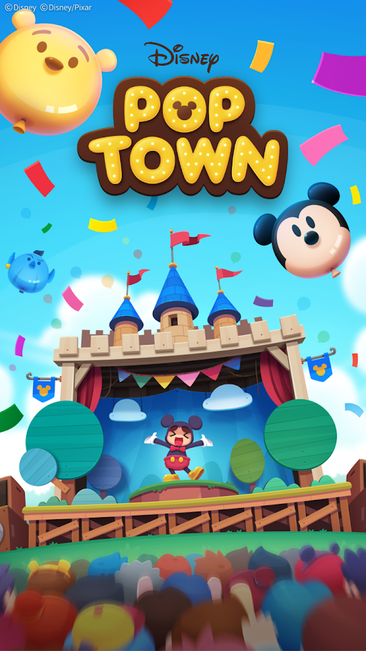 Disney POP TOWN screenshot 1