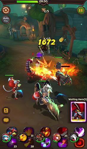 Strategie RPG Hello hero: Epic battle auf Deutsch