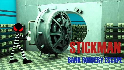 Stickman bank robbery escape screenshot 1