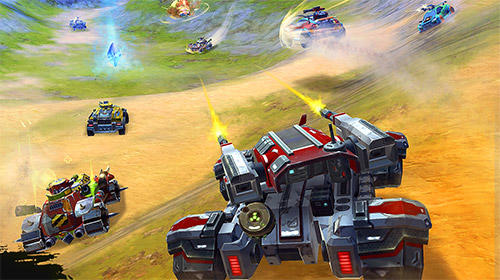 Cars of war screenshot 1