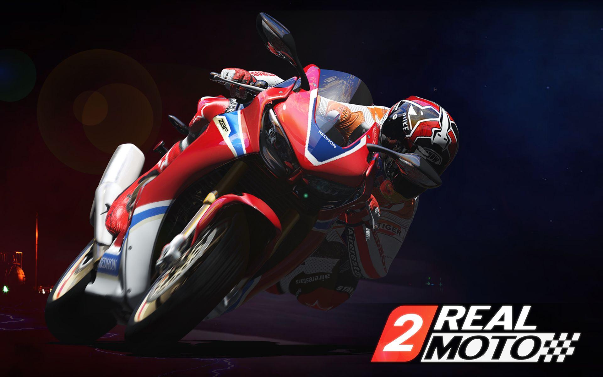 Real Moto 2 скриншот 1