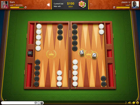 Backgammon live: Online backgammon capture d'écran 3