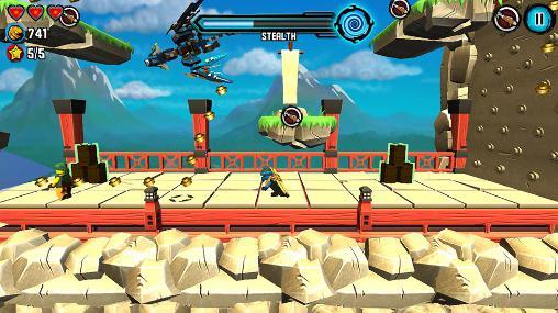 Бродилки (Action): скачать LEGO Ninjago: Skyboundна телефон