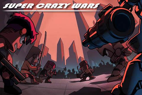 logo Super crazy wars