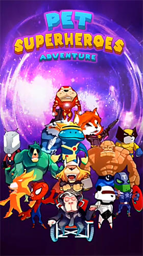 Pet superheroes adventure puzzle quest screenshot 1