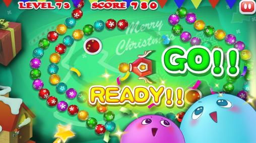 Marble blast: Merry Christmas para Android