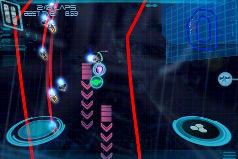 Omega: X Racer auf Deutsch