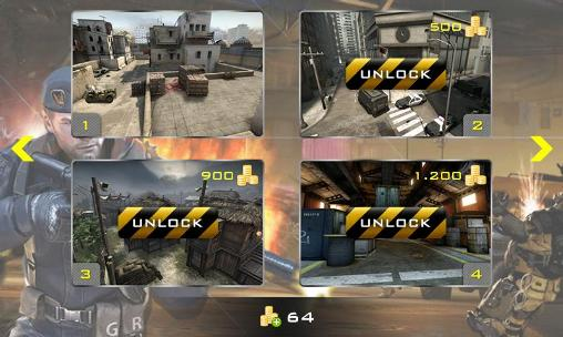 d'action Strike shooting: SWAT force pour smartphone