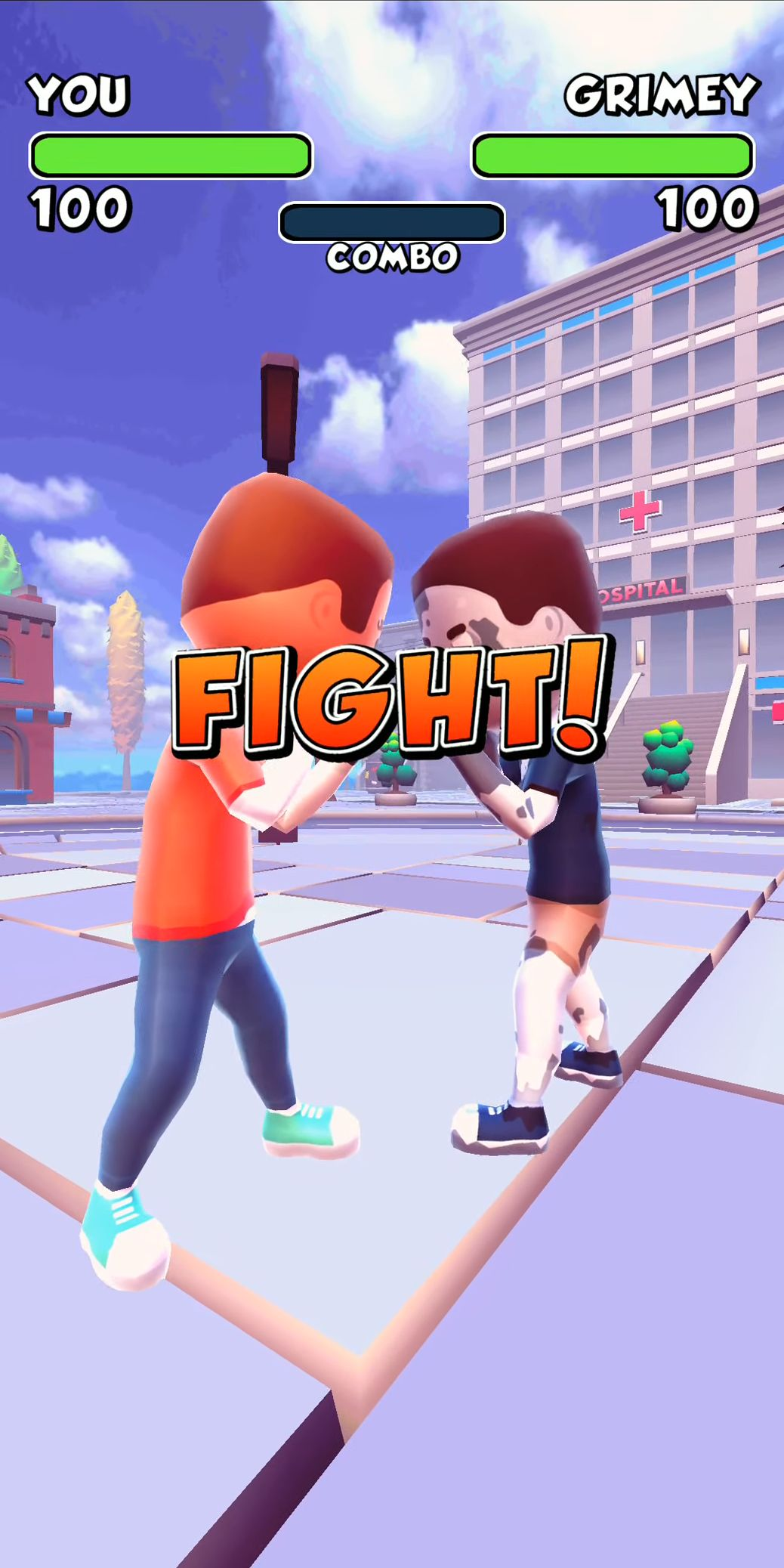 Swipe Fight! captura de pantalla 1