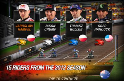 Le Grand Prix Speedway 2012 pour iPhone