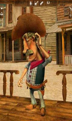 Simulation Talking Cowboy für das Smartphone