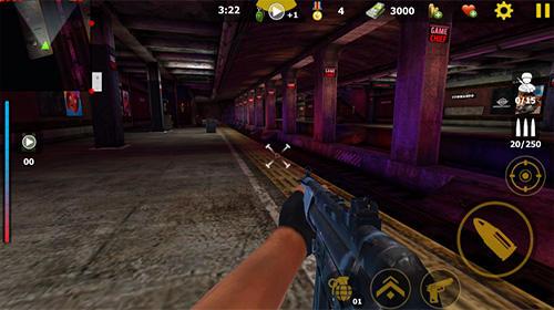 FPS Commando sniper attack: Modern gun shooting war auf Deutsch