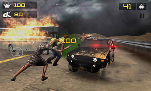 Police vs zombies 3D für Android