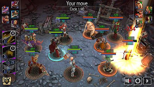 Strategie RPG Invictus heroes auf Deutsch