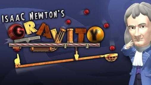 логотип Гравитация Исаака Ньютона