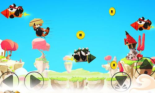 Tanoo jump:Tanukis vs pandas für Android