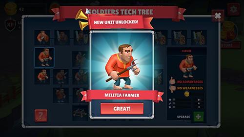 Strategiespiele Royal tower defence für das Smartphone