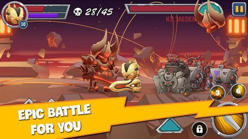 Juegos de acción Legendary warrior para teléfono inteligente